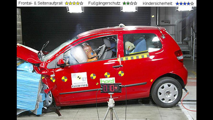 Im EuroNCAP-Crash-Test: Die beliebtesten Modelle