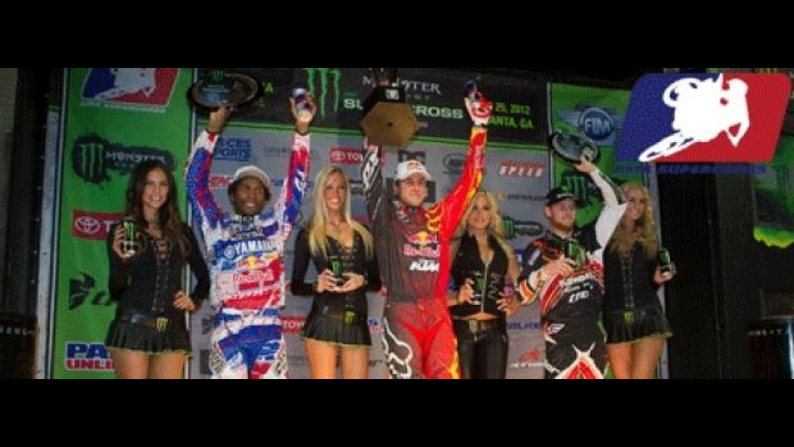 AMA Supercross 2012 Atlanta: Dungey conquista la seconda vittoria