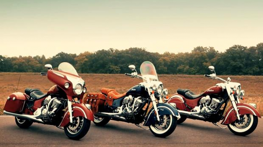 Indian Motorcycles: gamma 2014