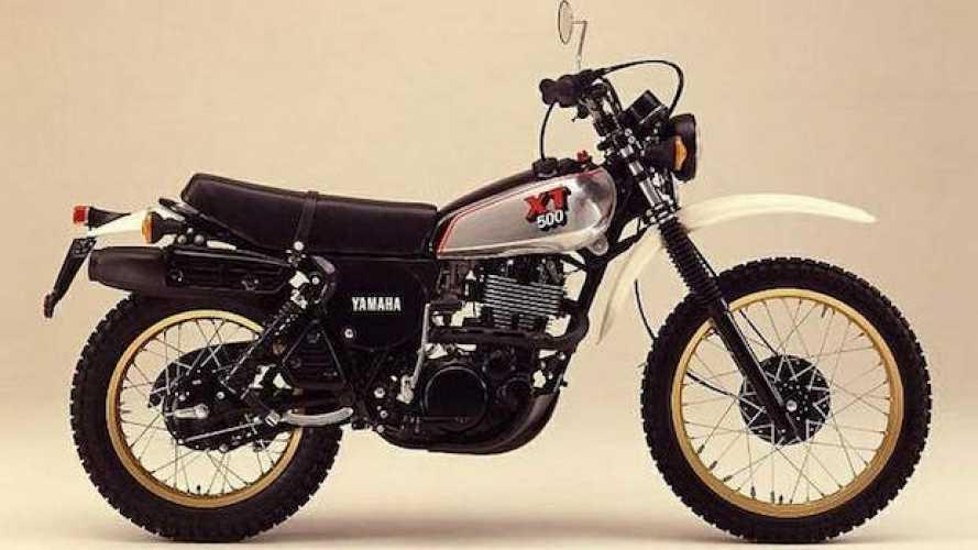 Yamaha XT500, l'enduro semplice
