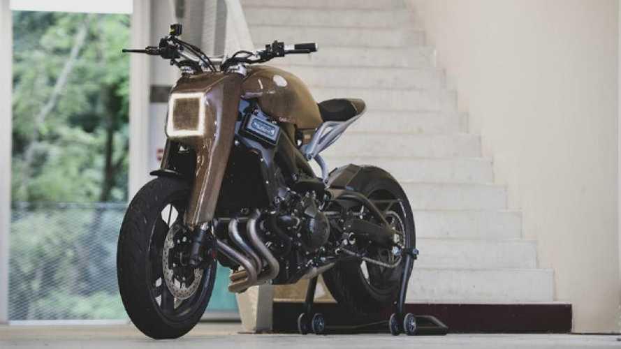 The Alter, il gioiello hi-tech di Yamaha Yard Built