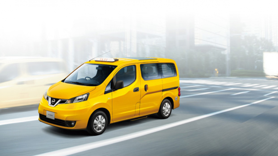 Nissan NV200, Yellow Cab anche a GPL