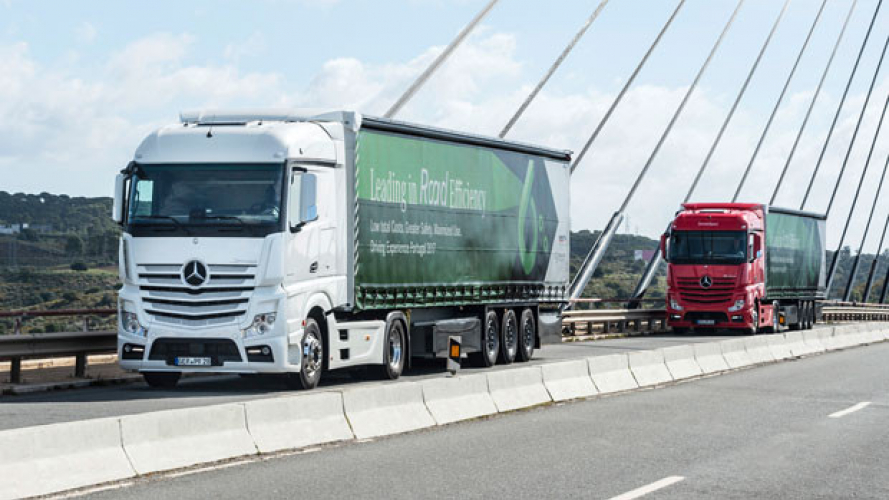 Mercedes Actros efficiente e sicuro