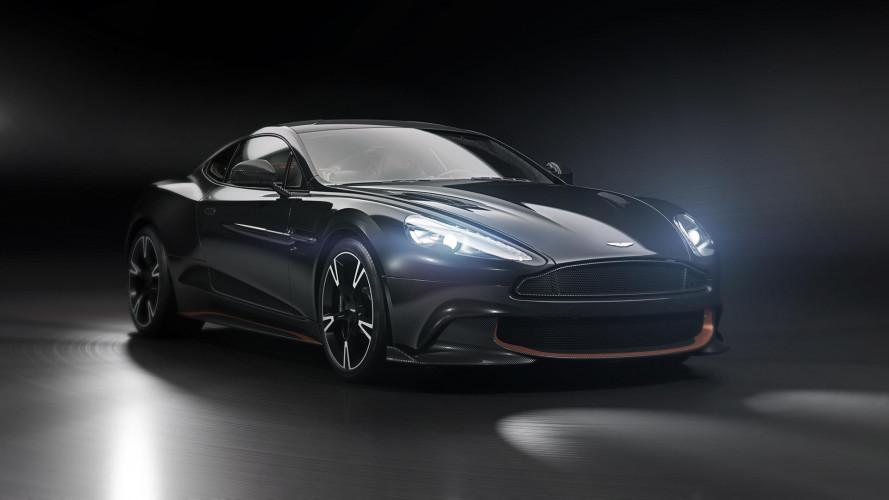 Aston Martin Vanquish S Ultimate Edition, il canto del cigno