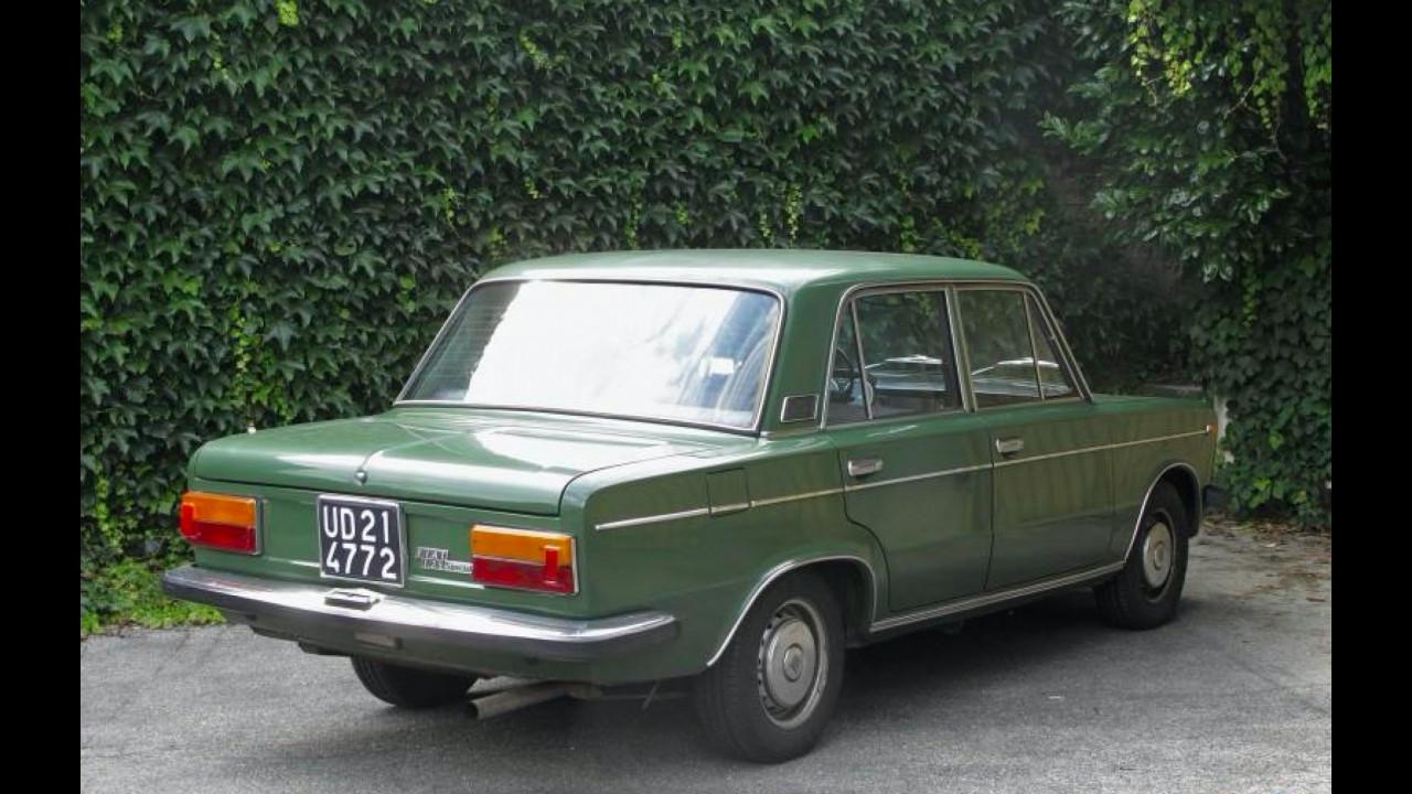 Fiat 125, la sfidante dell'Alf...