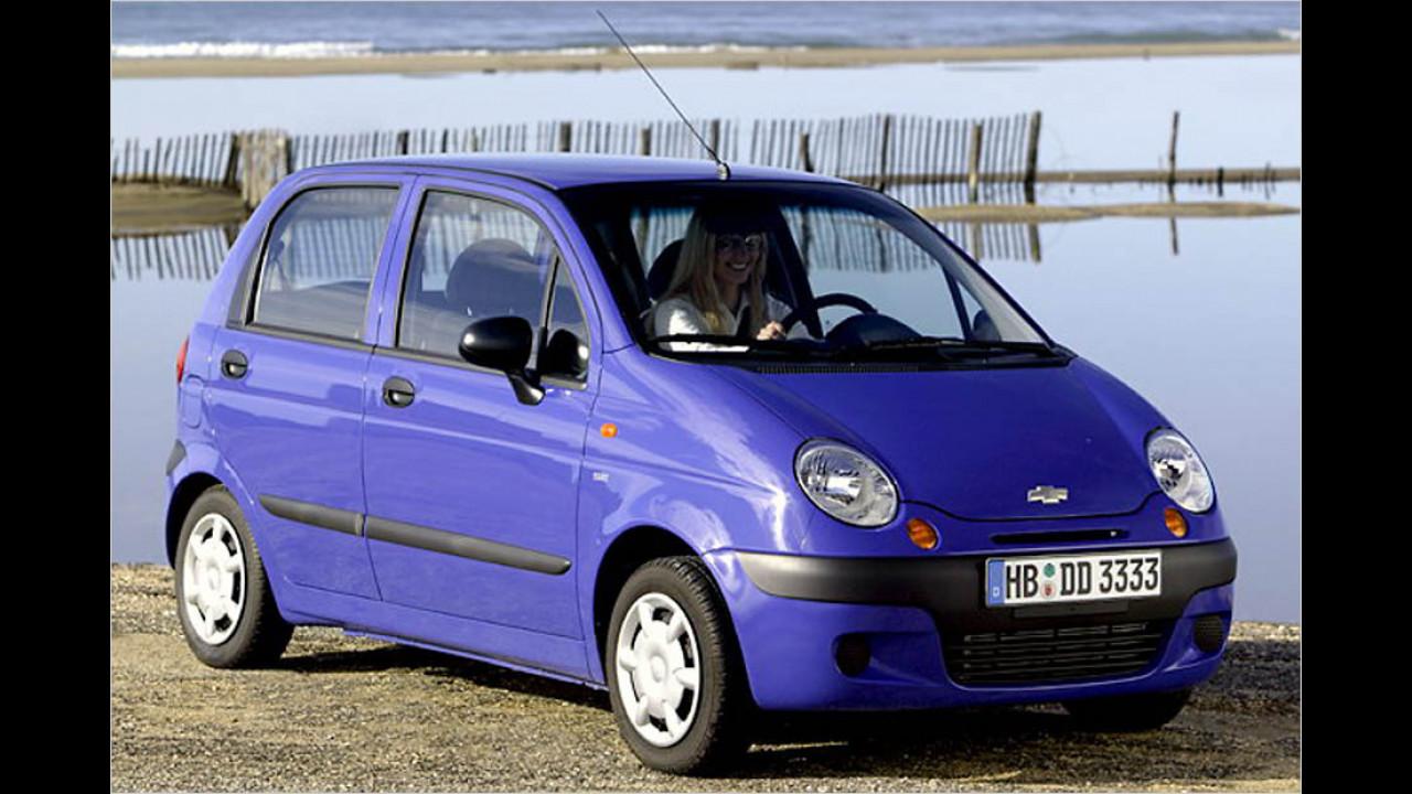 Die schlechtesten Autos bis 9 Jahre: Chevrolet Matiz