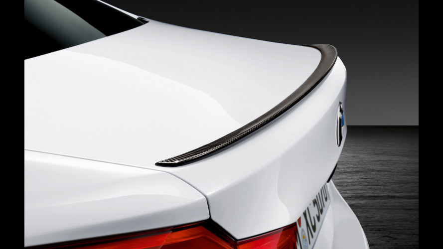 BMW M5, più estrema con le M Performance Parts