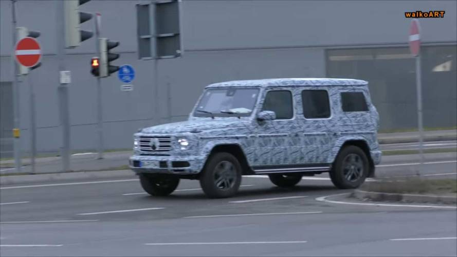 2018 Mercedes-Benz G-Serisi casus video