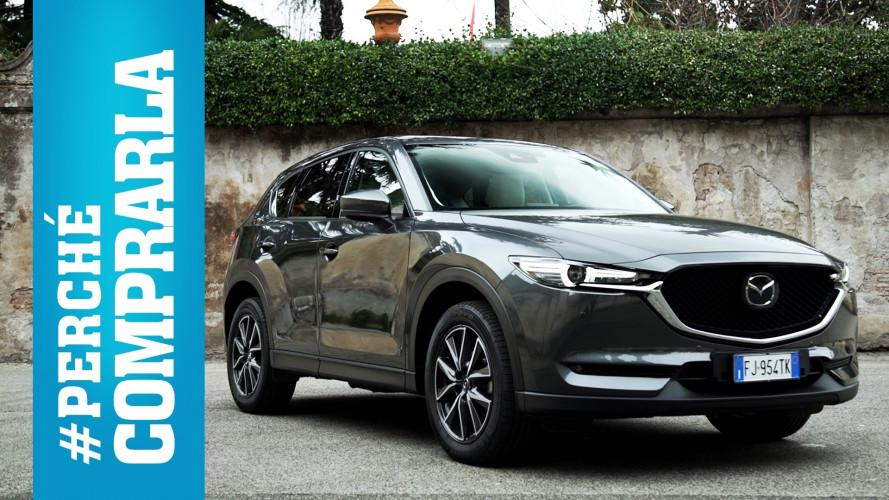 Mazda CX-5, perché comprarla… e perché no