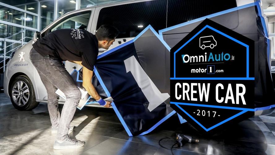 """La Crew Car di OmniAuto si """"tinge"""" di Motor1"""
