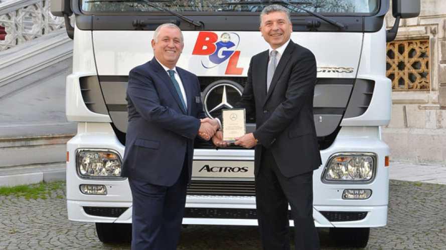 Nuovo mega ordine Mercedes in Turchia