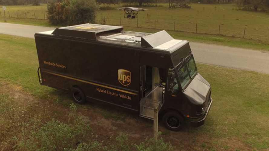 UPS testa i droni per consegne rurali