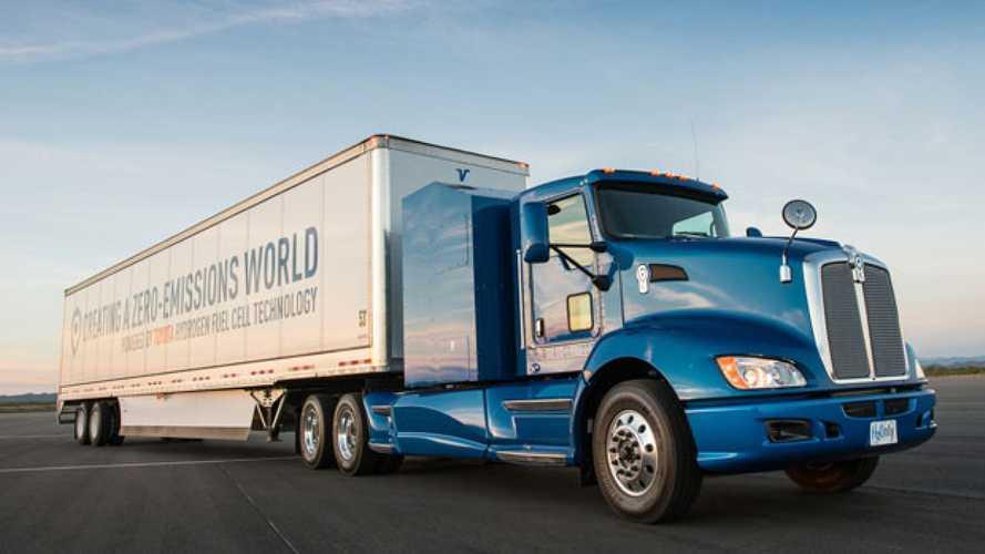 Toyota testa in California il camion a idrogeno