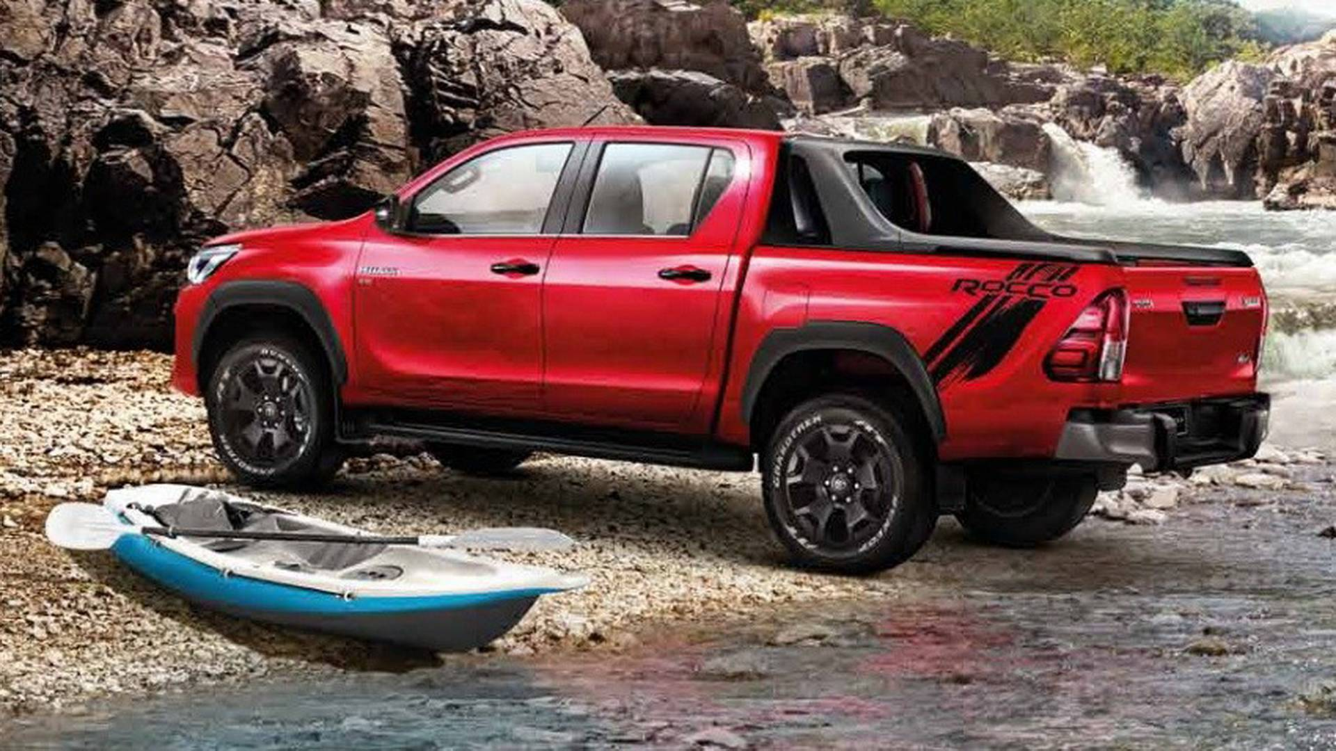 2019 Toyota Hilux Review Rendered Price Specs Release Date Youtube
