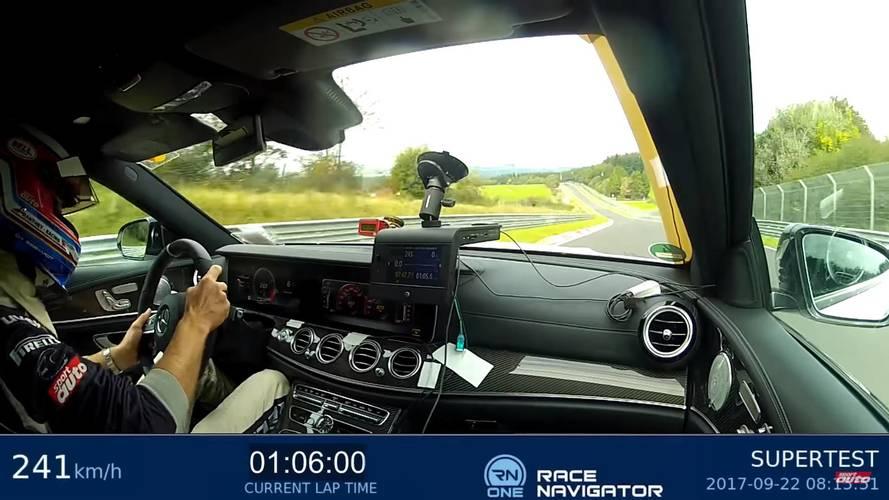 VIDÉO - La Mercedes-AMG E 63 S Break championne du Nürburgring