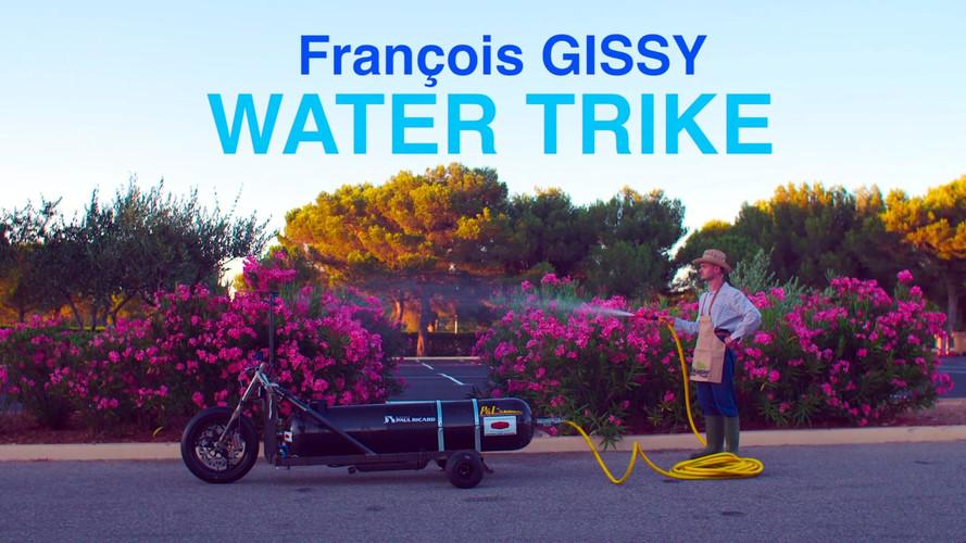 François Gissy et sa fusée roulante