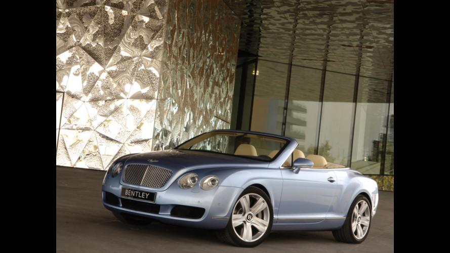 Iniziata la produzione di Bentley GTC
