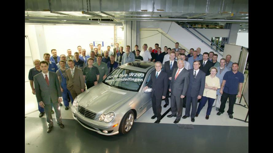 Prodotta l'ultima Mercedes Classe C