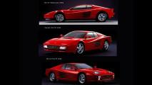 Ferrari Testarossa: l'evoluzione