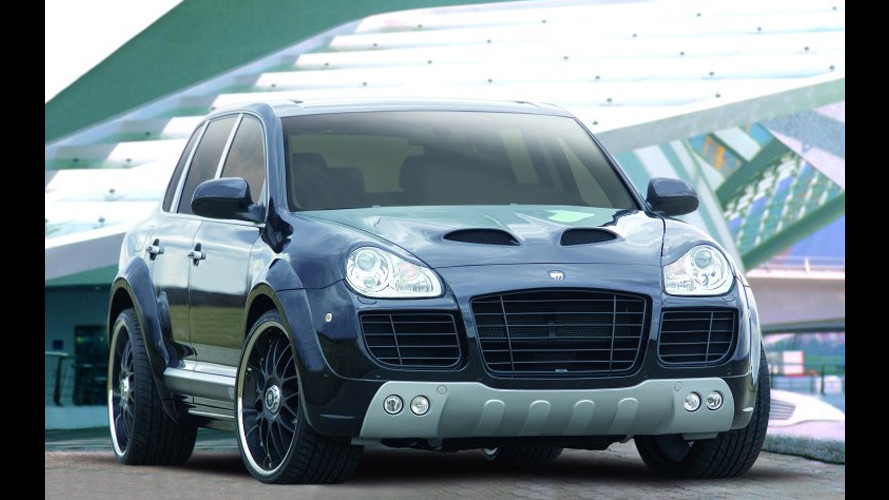 Cayenne 400 CLR GT by Lumma Design