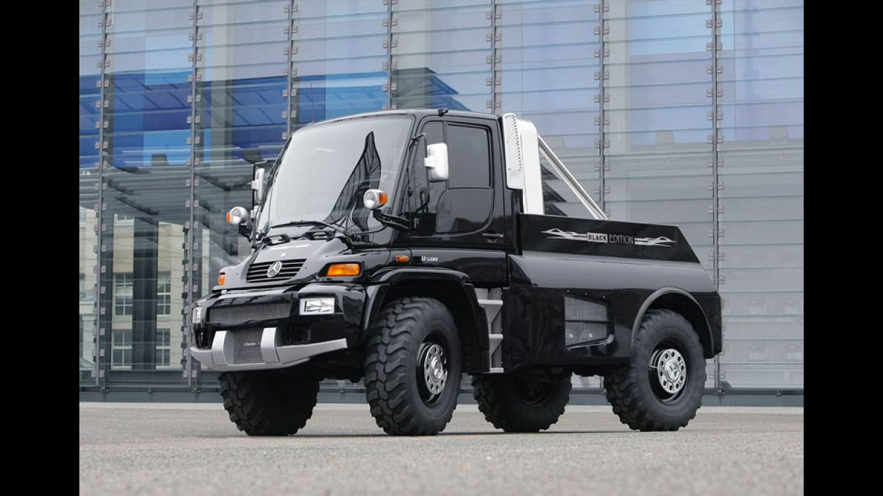 Mercedes-Benz Unimog U 500 Black Edition by Brabus