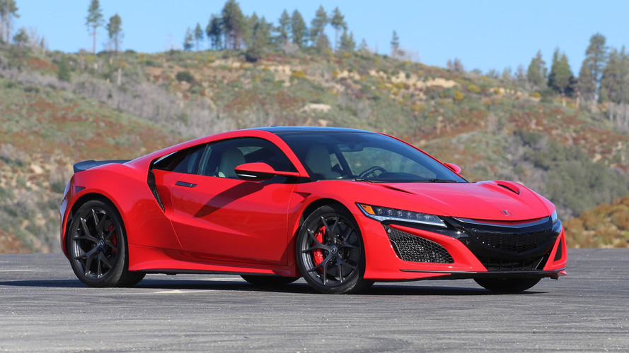 Acura NSX Roadster Rumored To Debut This Year