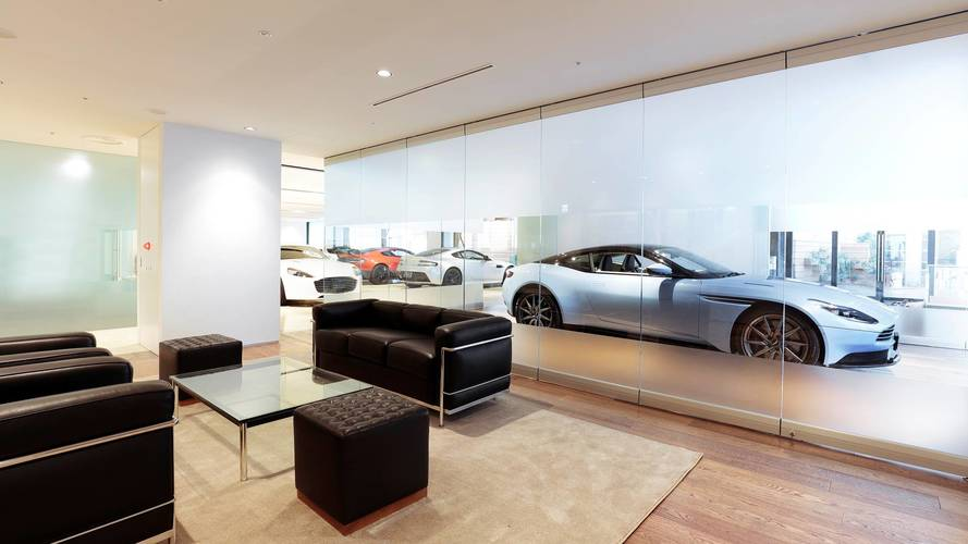 House Of Aston Martin Opens In Tokyo - Aston martin dealerships