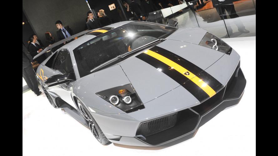 Lamborghini: vendite in calo del 18%