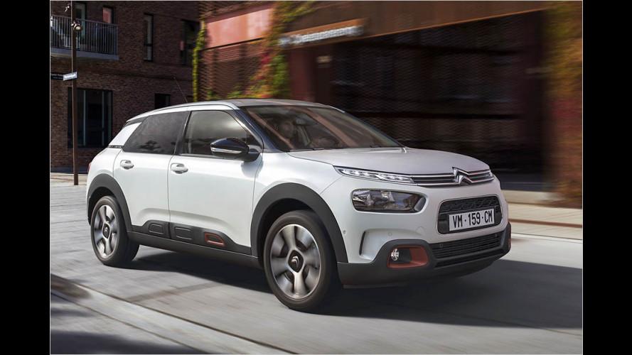 Citroën C4 Cactus erhält ein Facelift (2017)