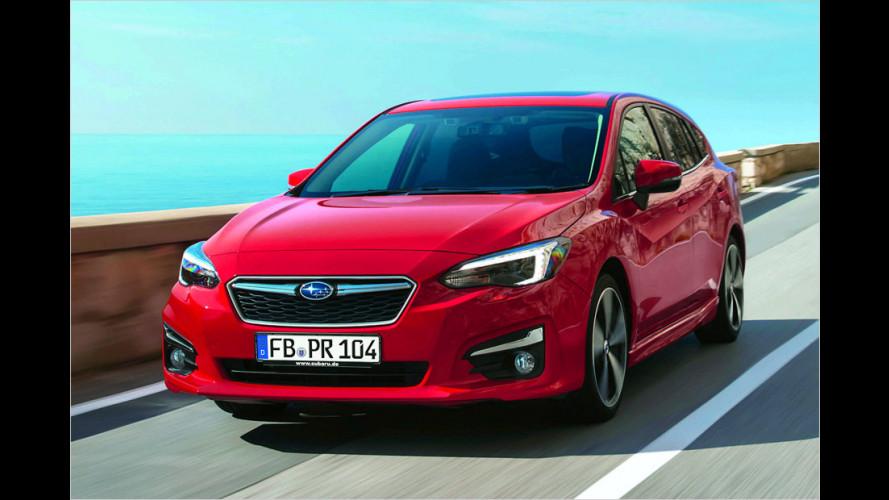 Subaru Impreza (2017): Das ist die neue Europa-Version