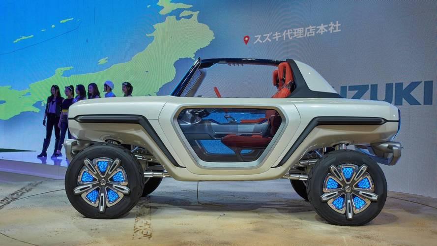 Suzuki e-Survivor Brings Its Peculiar Shape To Tokyo [UPDATE]