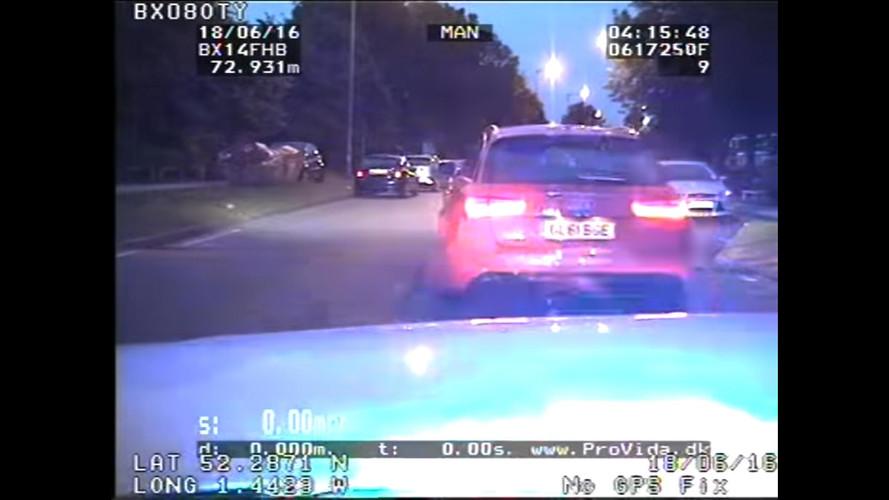 Audi RS 6 police