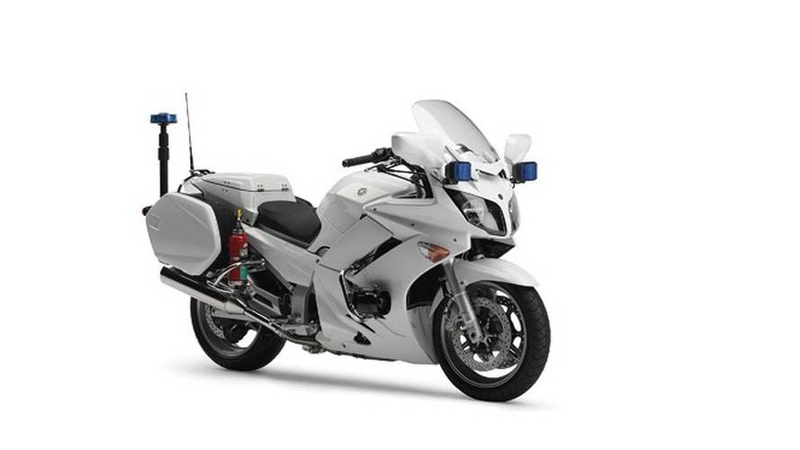 Introducing The Yamaha FJR1300P, America's Newest Cop Bike