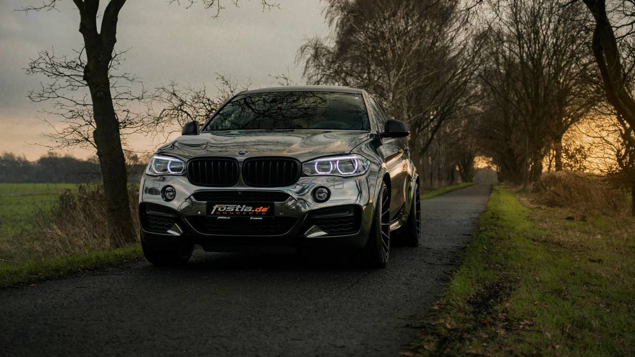 This Bmw X6 M50d Makes The Coupe Suv Even More Controversial
