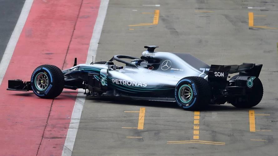 La première image de la Mercedes F1 W09