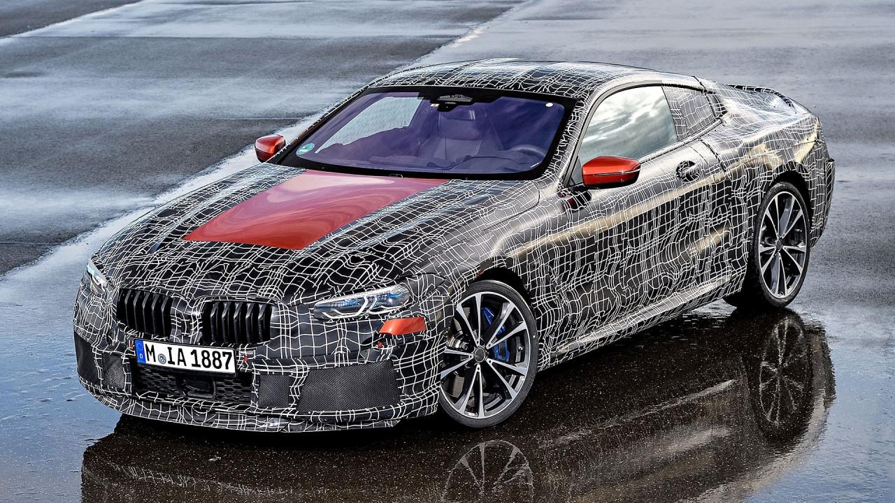 [Copertina] - BMW Serie 8 Coupé, gli ultimi test ad Aprilia