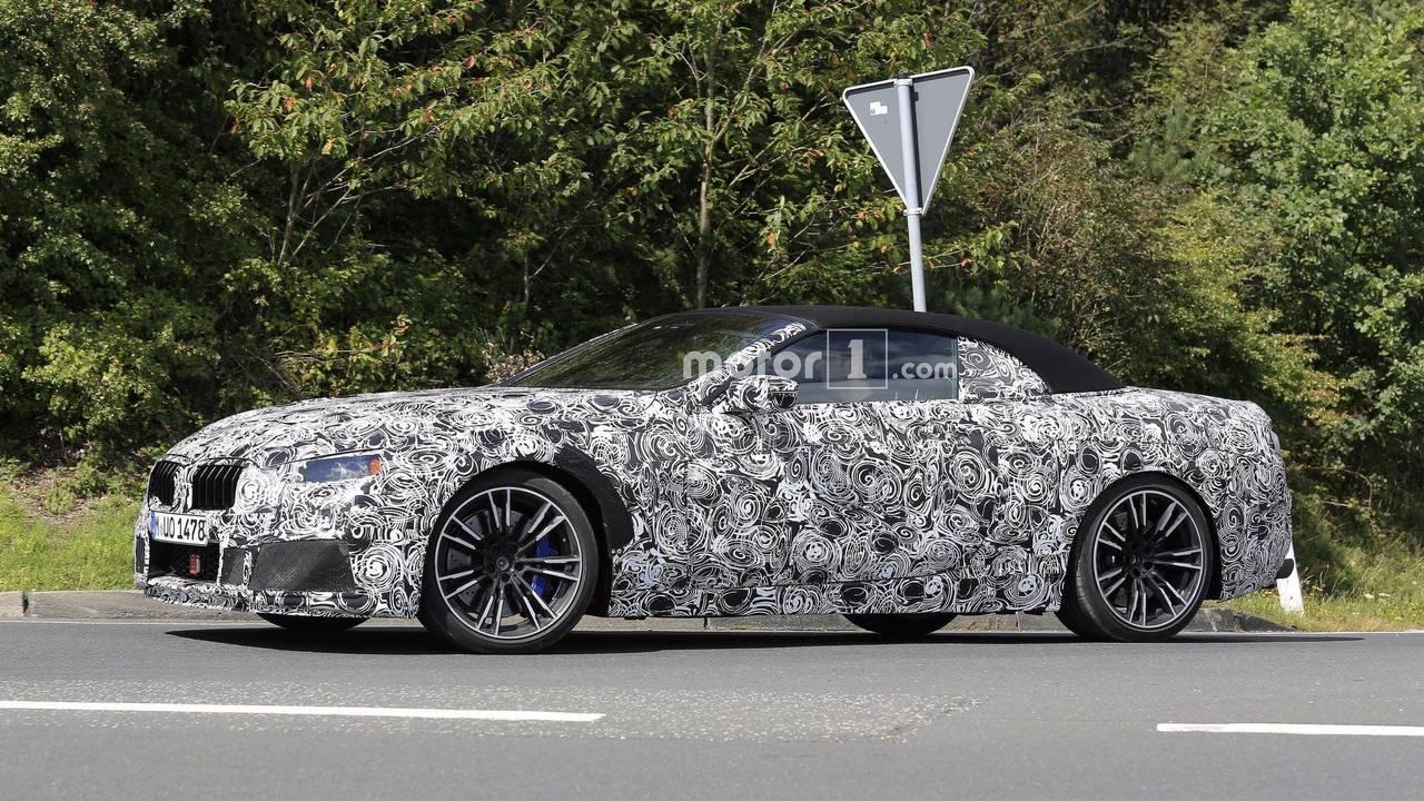 BMW M8 Cabrio 2018