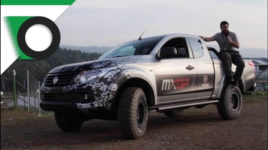 Con Fiat Fullback al Campionato del Mondo di Motocross [VIDEO]