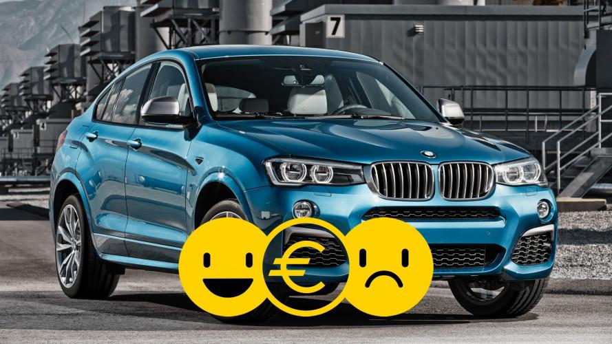 Promozione BMW X4, perché conviene e perché no