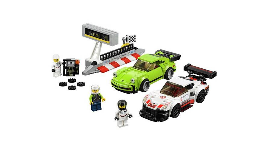 2018 Lego Speed Champions Set