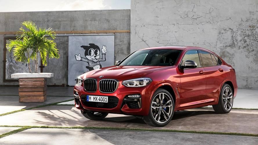 Yeni BMW X4 daha büyük ve daha teknolojik geldi