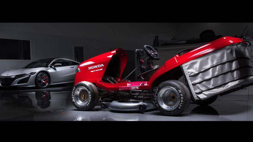 Así es el cortacésped de Honda más veloz del mundo