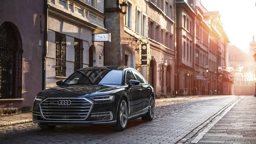Yeni Audi A8'in etkileyici görüntülerini inceleyin