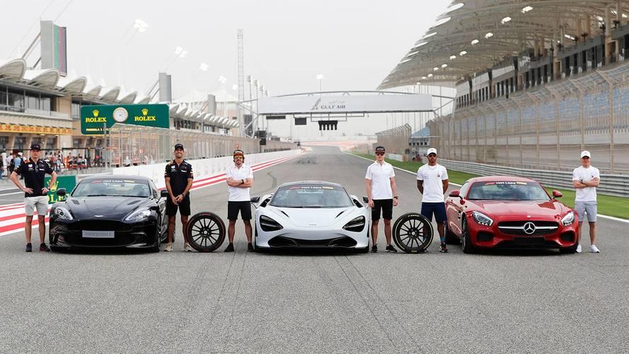 Hot Laps en superdeportivos: la última iniciativa de Pirelli