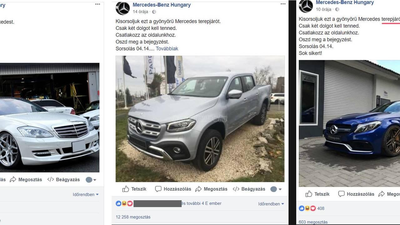 Mercedes átverés