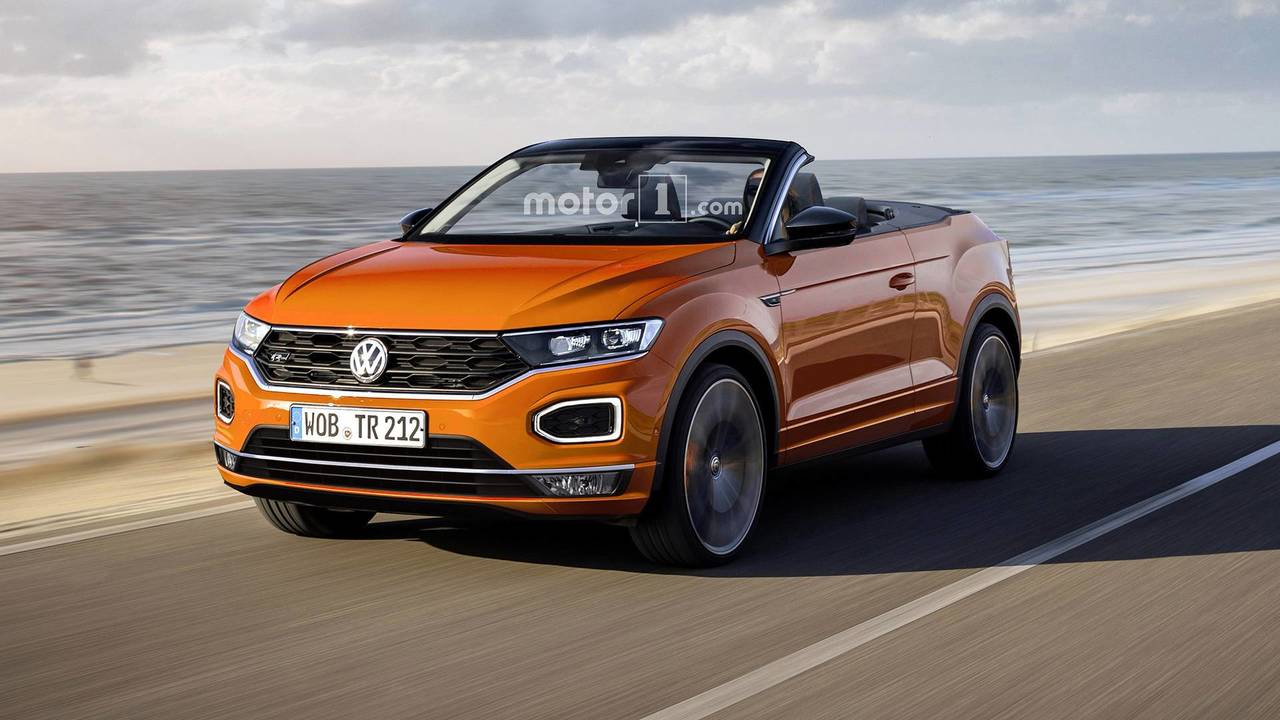 2020 Volkswagen T-Roc Cabrio Render