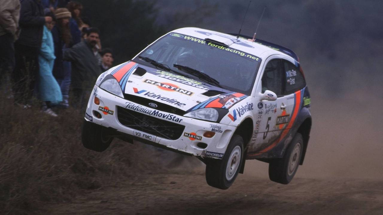 Ford Focus Wrc 1999 2010