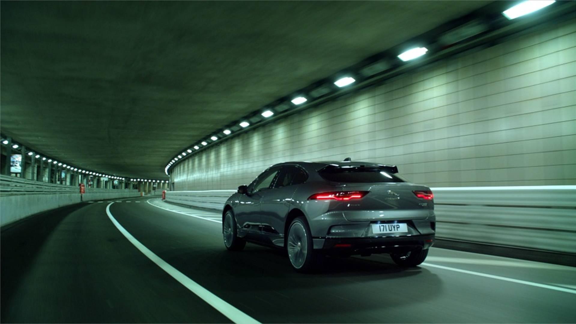 Jaguar I Pace Ev Does Sneaky Night Lap Of Monaco Circuit