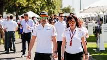 Fernando Alonso, en el GP de Australia 2018 de F1