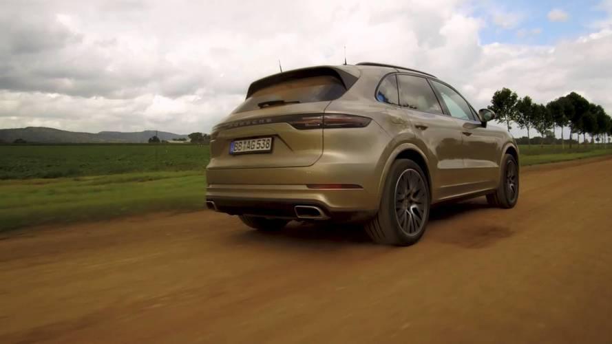 Porsche Cayenne E-Hybrid 2018: teaser del SUV ecológico